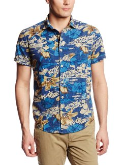 Men's Bruce Short Sleeve Shirt by Woolrich John Rich & Bros. in Hall Pass