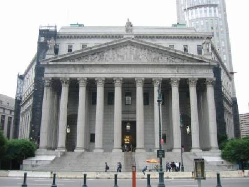 New York Supreme Court New York, New York in The Other Woman