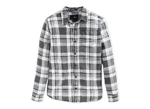 Washed Plaid Shirt by Hurley Cooper in Run All Night
