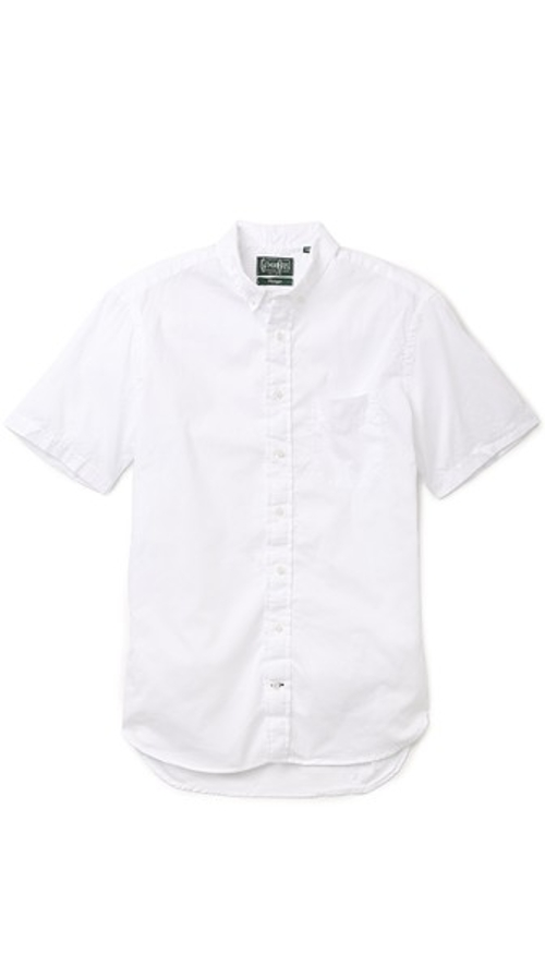 Zephyr Oxford Shirt by Gitman Vintage in Love & Mercy