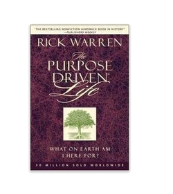 """The Purpose Driven Life : What On Earth Am I Here For"" Book by Rick Warren in Captive"
