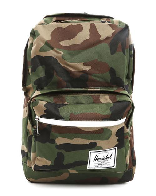 Pop Quiz Camouflage Backpack by HERSCHEL in Walk of Shame
