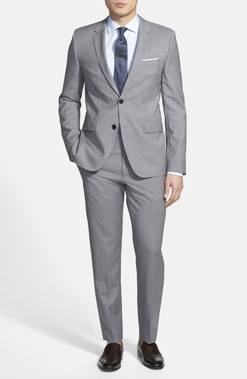 Aeron/Hamen Extra Trim Fit Wool Suit by Hugo in Mission: Impossible - Rogue Nation