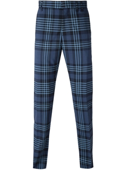 Checked Straight Trousers by Vivienne Westwood in Scream Queens