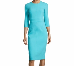 Spring Floral Sheath Dress by Michael Kors Collection in The Good Fight