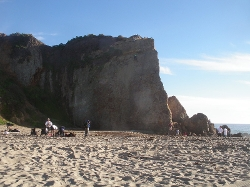 Malibu, California by Point Dume State Beach in Love & Mercy
