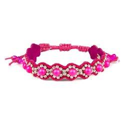 Pearl Candy Cuff String Bracelet by Deepa Gurnani in That Awkward Moment