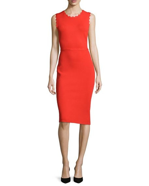 Aldridge Scalloped Sheath Dress by A.L.C. in The Bachelorette - Season 12 Episode 6
