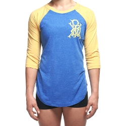 Women's Small Monogram Raglan Shirt by Progenex in Mean Girls