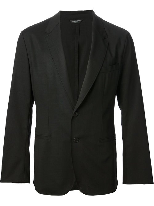 Virgin Wool Buttoned Blazer by Dolce & Gabbana in Avengers: Age of Ultron