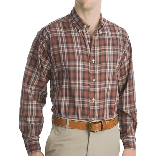 Long Sleeve Logan Plaid Shirt by Bills Khakis in Me and Earl and the Dying Girl