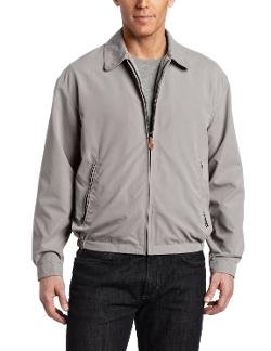 Men's Auburn Zip Front Light Mesh Lined Golf Jacket by London Fog in Dumb and Dumber To