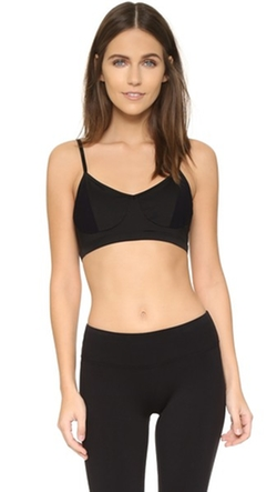 Sport Mesh Block Bralette by Solow in Keeping Up With The Kardashians