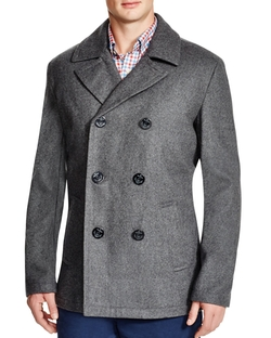 Wool Pea Coat by Vineyard Vines in Quantico