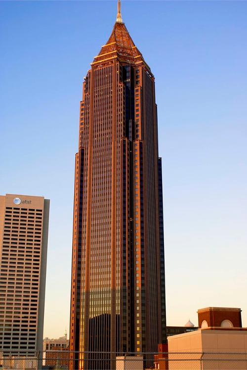 Bank of America Plaza Atlanta, Georgia in Ride Along
