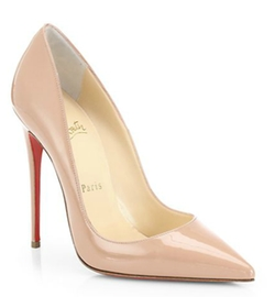 So Kate Patent Leather Pumps by Christian Louboutin in Suits