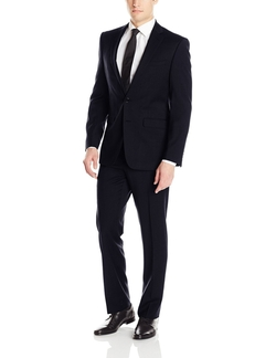 Men's Two-Piece Suit by Calvin Klein in Barely Lethal