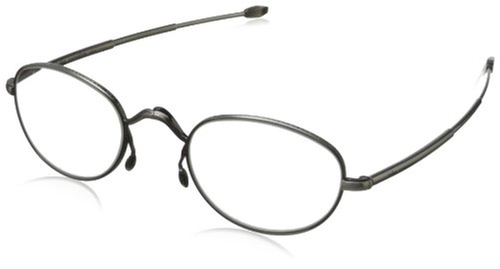 Round Reading Glasses by John Varvatos in Hail, Caesar!