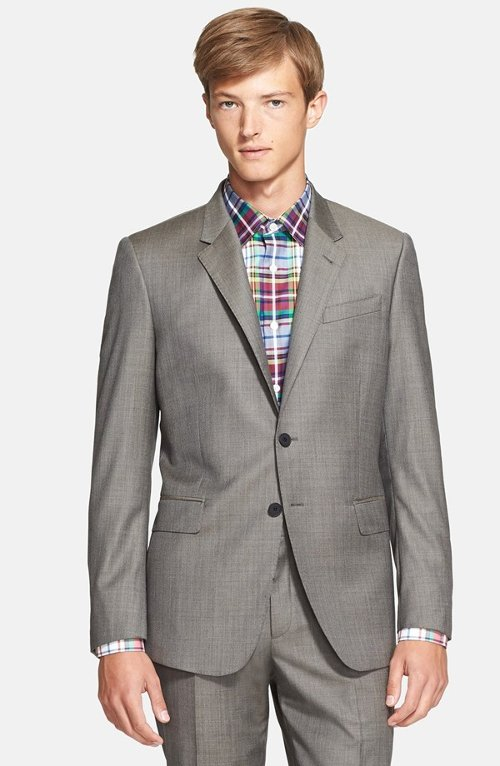 Byard Trim Fit Wool Mélange Suit by Paul Smith London in The Loft
