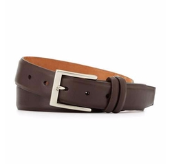Interchangeable Buckles Basic Leather Belt by W. Kleinberg in Billions