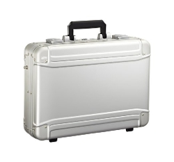 Geo Aluminum Large Laptop Case by Zero Halliburton in Entourage