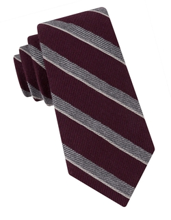 Textured Stripe Tie by Black Brown 1826  in Modern Family