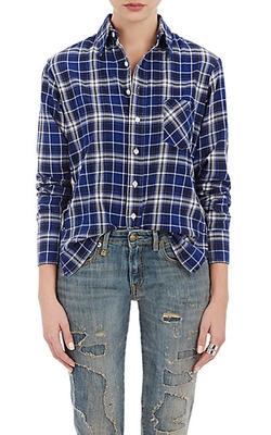 Lightweight Flannel Shirt by R13 in The Bachelorette