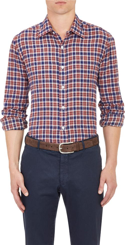 Plaid Shirt by Salvatore Piccolo in No Strings Attached
