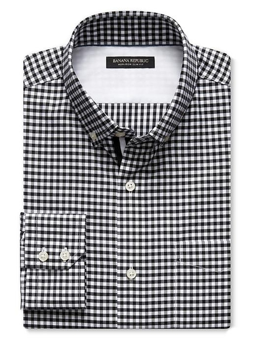 Gingham Shirt by Banana Republic in American Horror Story - Season 5 Episode 10