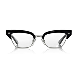 Cat-Eye Frame Acetate Glasses by Cutler and Gross in Kingsman: The Golden Circle