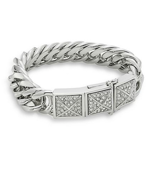 Pavé Stud Curbs Chain Bracelet by Rebecca Minkoff in Alvin and the Chipmunks: The Road Chip