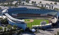 Los Angeles, California by Dodger Stadium in Secret in Their Eyes
