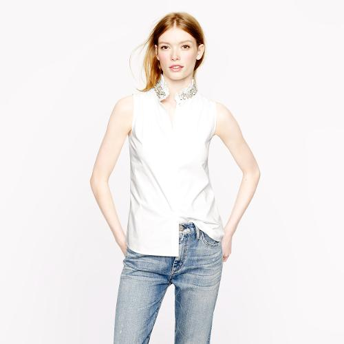Tilda Rhinestone Top by J.Crew in The Other Woman