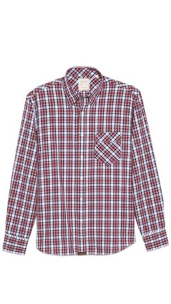 Walland Small Plaid Sport Shirt by Billy Reid in Neighbors