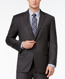 Ultraflex Charcoal Flannel Classic-Fit Jacket by Lauren Ralph Lauren  in Modern Family