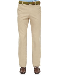 Raleigh Washed Twill Pants by Peter Millar in Suits