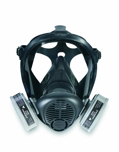Full Facepiece Respirator Mask by Sperian in The Transporter: Refueled