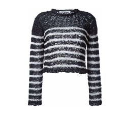 Striped Jumper Sweater by T By Alexander Wang in Arrow