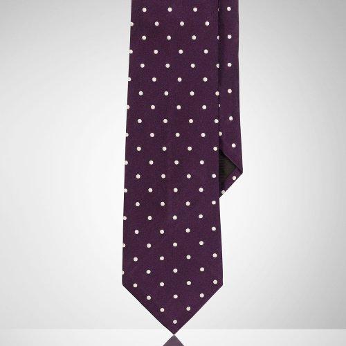 Polka-Dot Silk Satin Tie by Ralph Lauren in Horrible Bosses 2