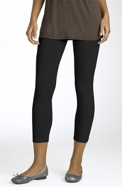 Crop Stretch Knit Leggings by Splendid in The Best of Me