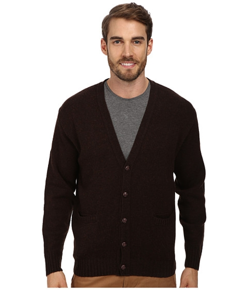 Shetland Cardigan Sweater by Pendleton in Sinister 2