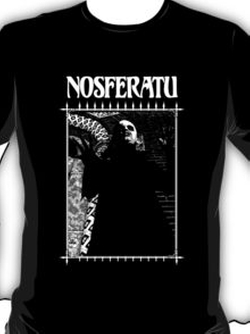 Retro Nosferatu Tee Shirt by Red Bubble in Me and Earl and the Dying Girl