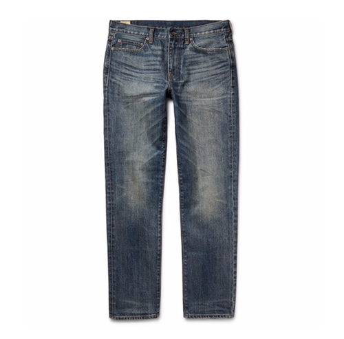 770 Slim-Fit Washed-Denim Jeans by J.Crew in Pretty Little Liars - Season 6 Episode 20