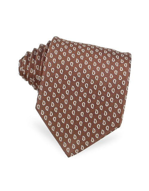 Woven Silk Tie by Forzieri in The Best of Me
