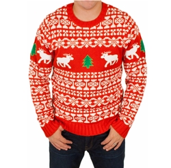 Holiday Reindeer Ugly Christmas Sweater by Festified in Lethal Weapon
