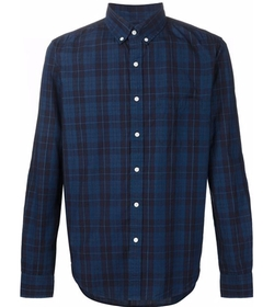 Plaid Button Down Shirt by 321 in Criminal