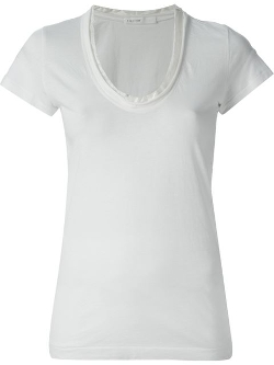 Scoop Neck T-Shirt by Sacai Luck in Fast Five