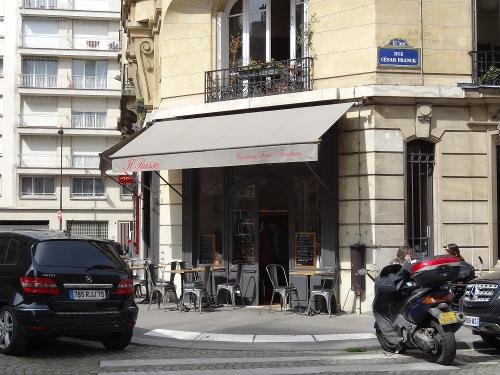 Il Russo (depicted as Cafe Debussy) Paris, France in Inception