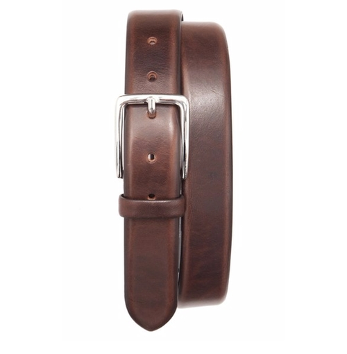 'Angelo' Leather Belt by Trafalgar in The Notebook