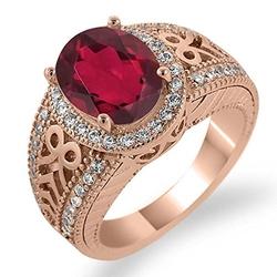 Mystic Quartz Sapphire Ring by Gem Stone King in Pretty Little Liars
